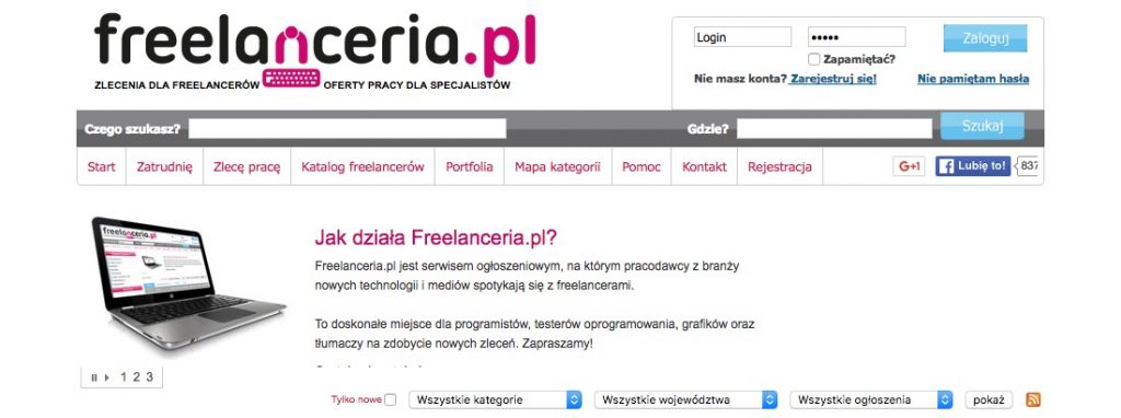 screen freelanceria.pl