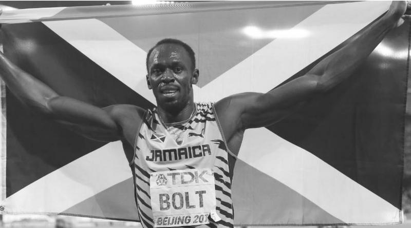 bolt z jamajska flaga